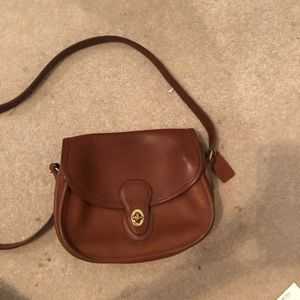 Brown Coach Crossbody Bag